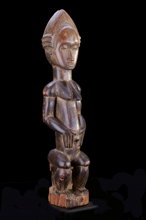 Holzfigur aus Kamerun Mitte 20 Jhdt